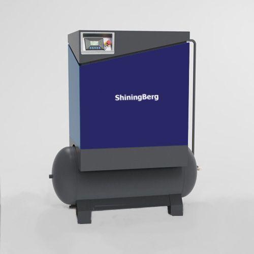Компрессор роторный ShiningBerg - 20T с 300 л ресивером