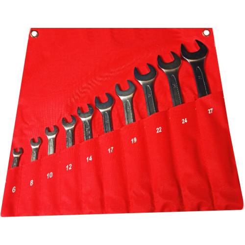 Набор ключей комбинированных  10 предметов 6-27 мм NKK010 6-27