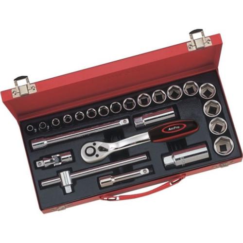 Набор инструмента 3/8 24 предметов AmPro T45212