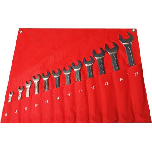 Набор ключей комбинированных 12 предметов 6-27 мм NKK012 6-27