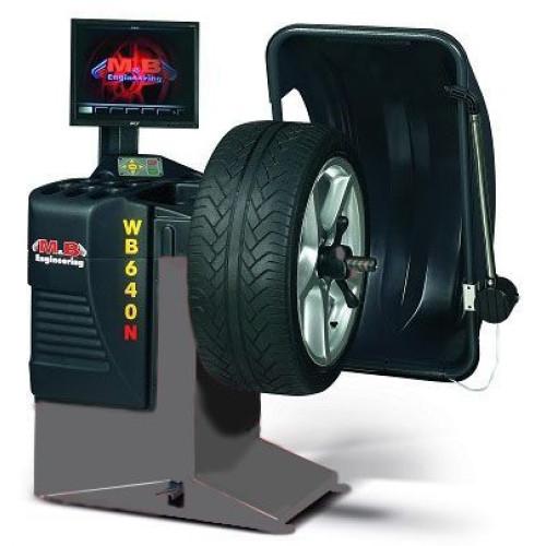 Балансировочный станок Автомат 220V M&B Engineering WB640
