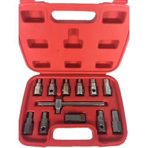 Комплект головок для маслосливных пробок 12 предметов 1-C1001