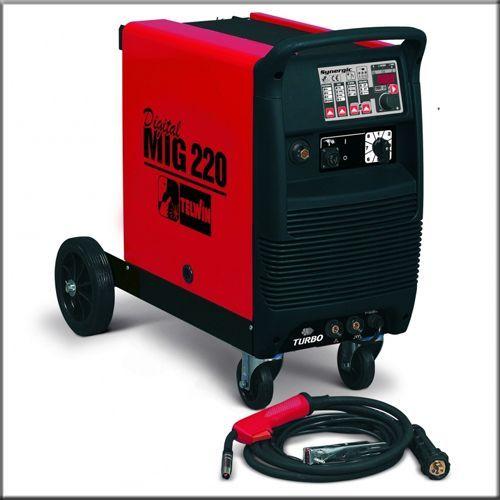 Digital Mig 220 Synergic - Зварювальний напівавтомат (380В) 20-220 А       820024