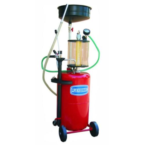 Комбинированная установка для замены масла емкостью 80л., с предкамерой 10л.и стальным сливом для ма