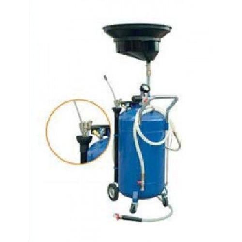 Пневматическая установка для сбора масла объемом 65 л