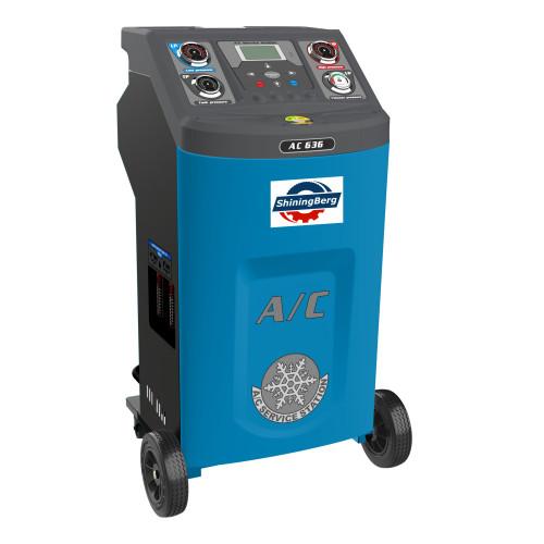Автоматическая установка для заправки автомобильных кондиционеров AC-636 с принтером