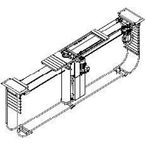 Гидравлический Подвижной цылиндр 15т