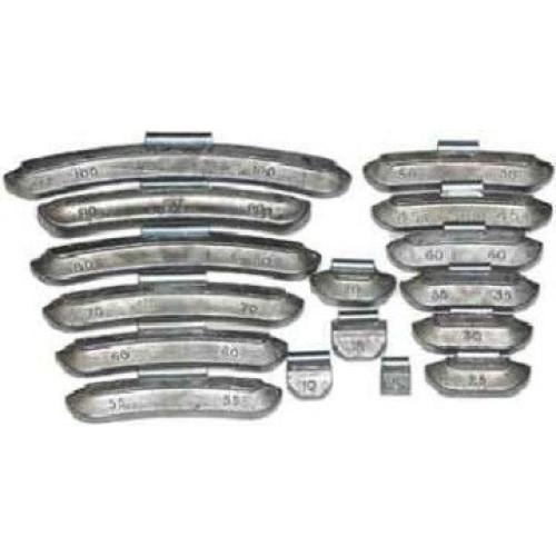 50  г Груз набивной для алюминиевых дисков-Україна 50 шт. ALU50