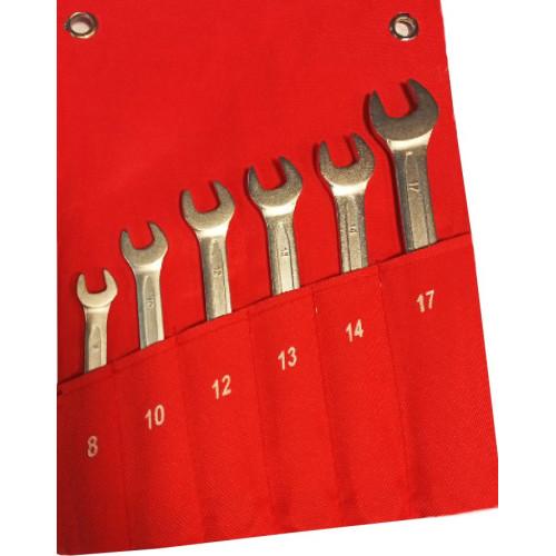Набор ключей комбинированных 6 предметов 8-17 мм NKK006 8-17