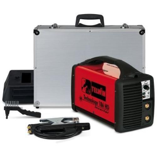 Technology 186 HD - Зварювальний апарат з аксесуарами в пластиковому кейсі      816205