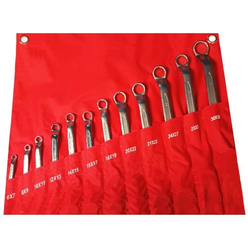 Набор ключей накидных 12 предметов 6-32мм NNK012 6-32