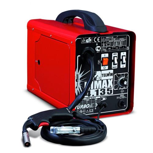 Bimax 4.135 Turbo - Зварювальний напівавтомат (230В) 50-120 А      820005