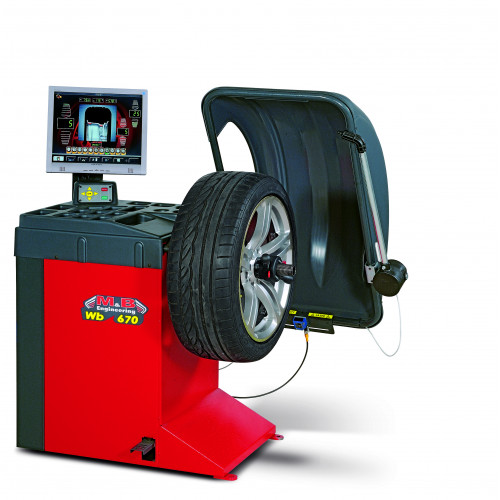 Балансировочный станок Автомат 220V M&B Engineering WB670