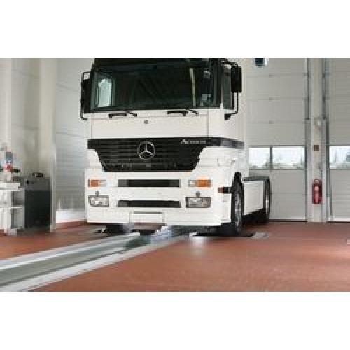 1 Роликовый стенд RBT/C F -2V- для проверки тормозных систем грузовых и легковых автомобилей