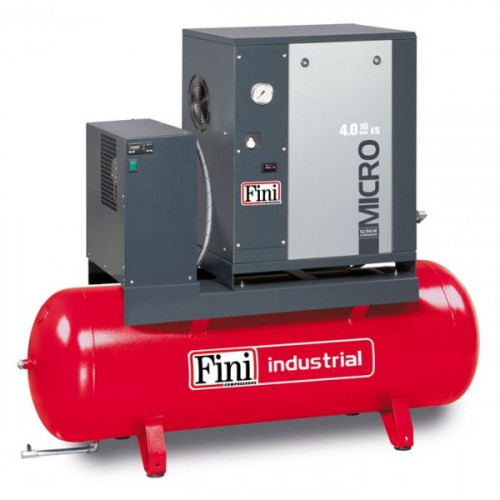 MICRO 5.5-10-270 ES - Компрессор роторный с осушителем 650 л/мин