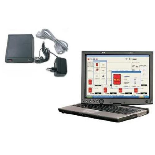 Програмное обеспечение и блок соединения електронной системы с ПК