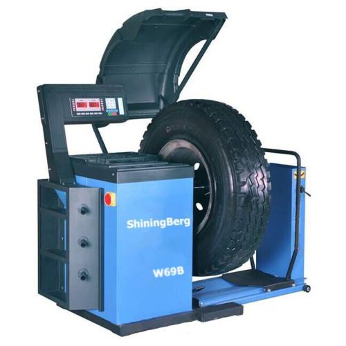 Балансировочный станок для колес грузовых автомобилей 220V ShiningBerg W69
