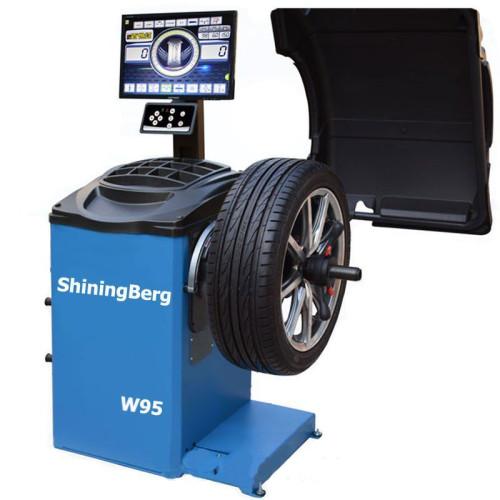 Балансировочный станок с монитором 220V ShiningBerg W95