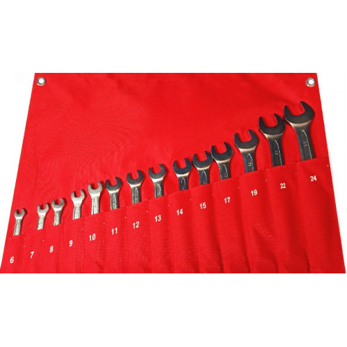 Набор ключей комбинированных 14 предметов 6-24 мм NKK014 6-24